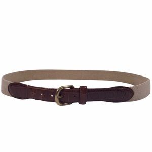 Genuine Leather Size 38 Made in Italy Belt